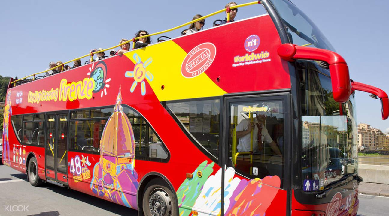 佛羅倫薩隨上隨下觀光巴士票