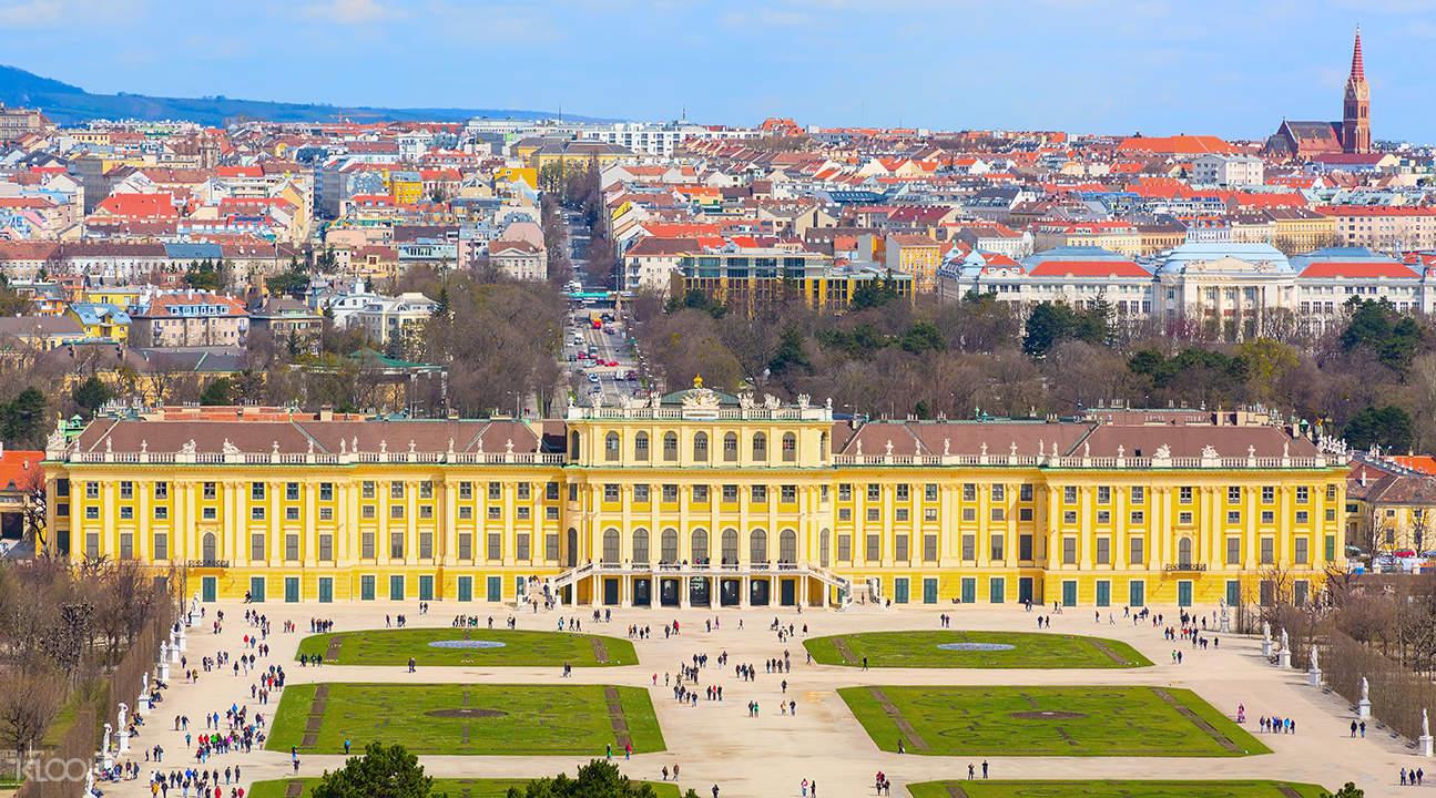 city tour and schonbrunn vienna