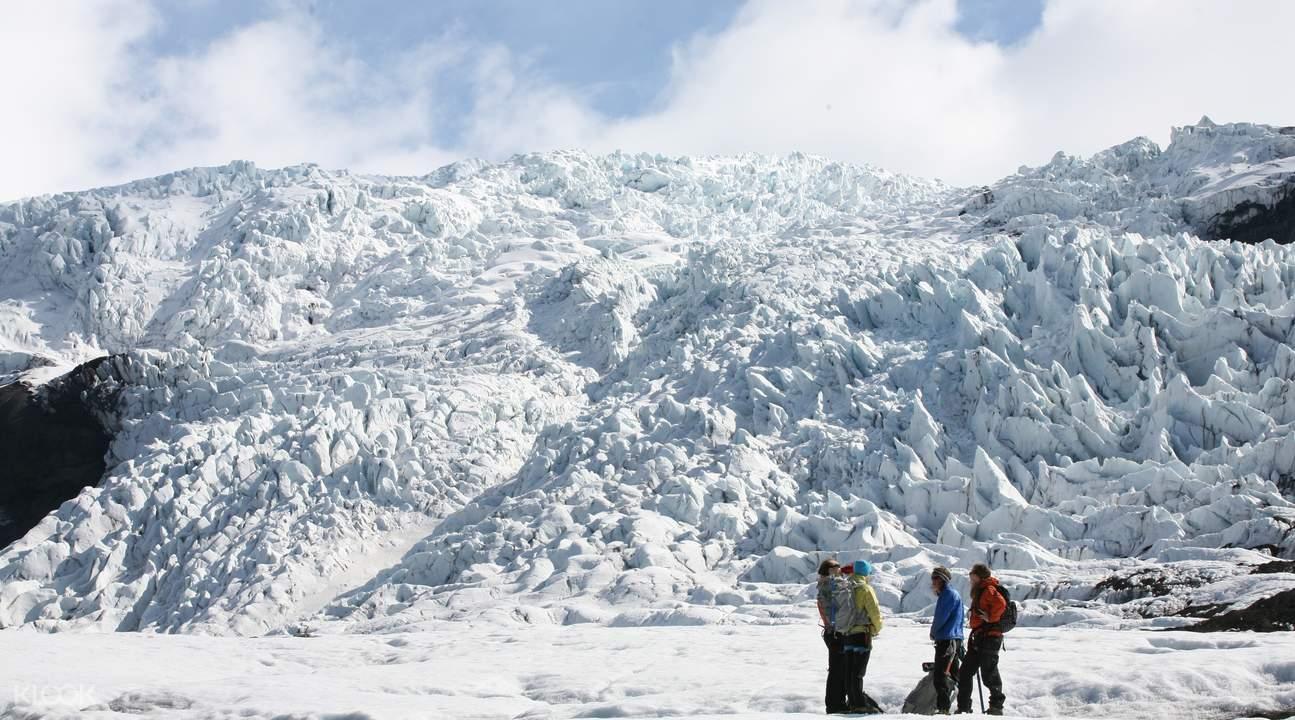 glacier hiking half day tour