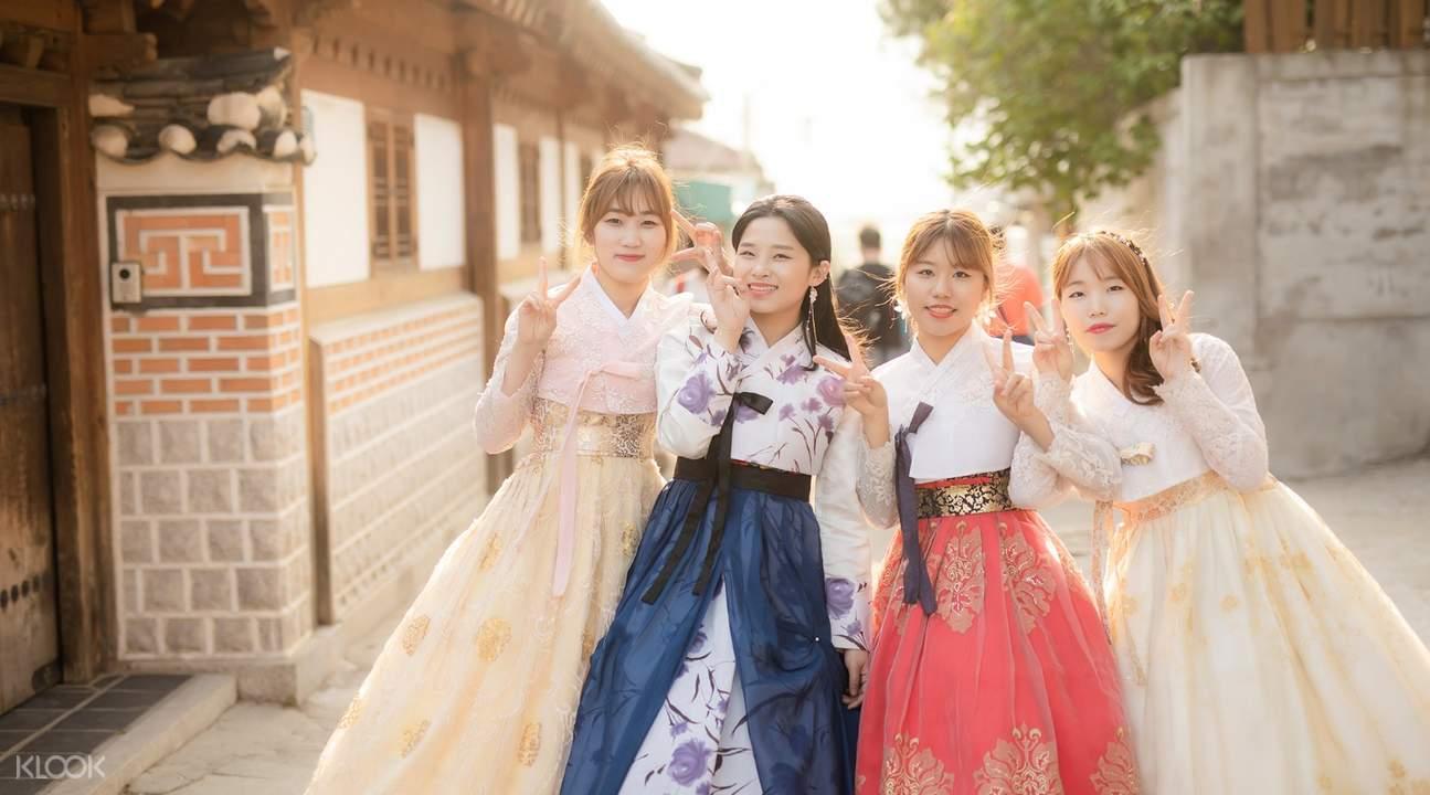首爾韓服體驗