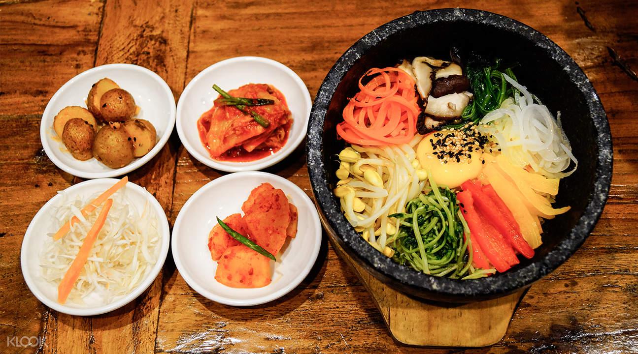 bibimbap kimchi korean restaurant suntec city singapore