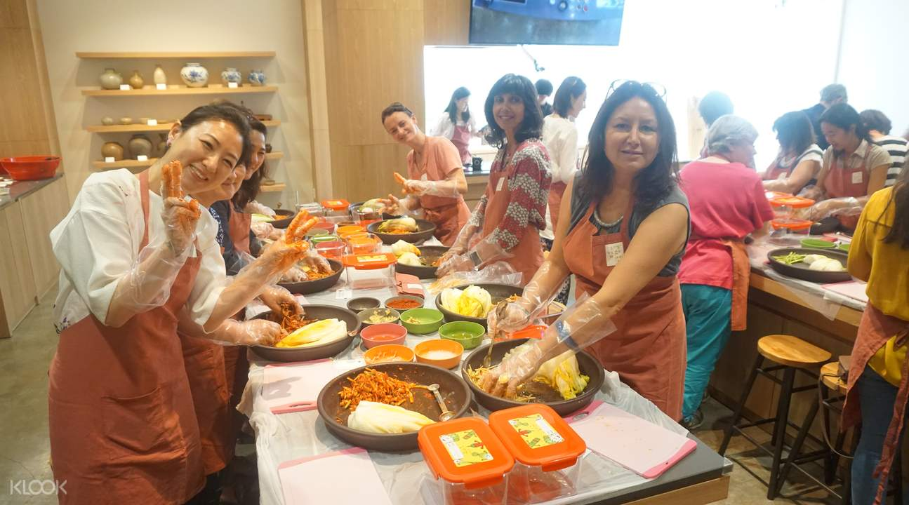 kimchi making experience seoul