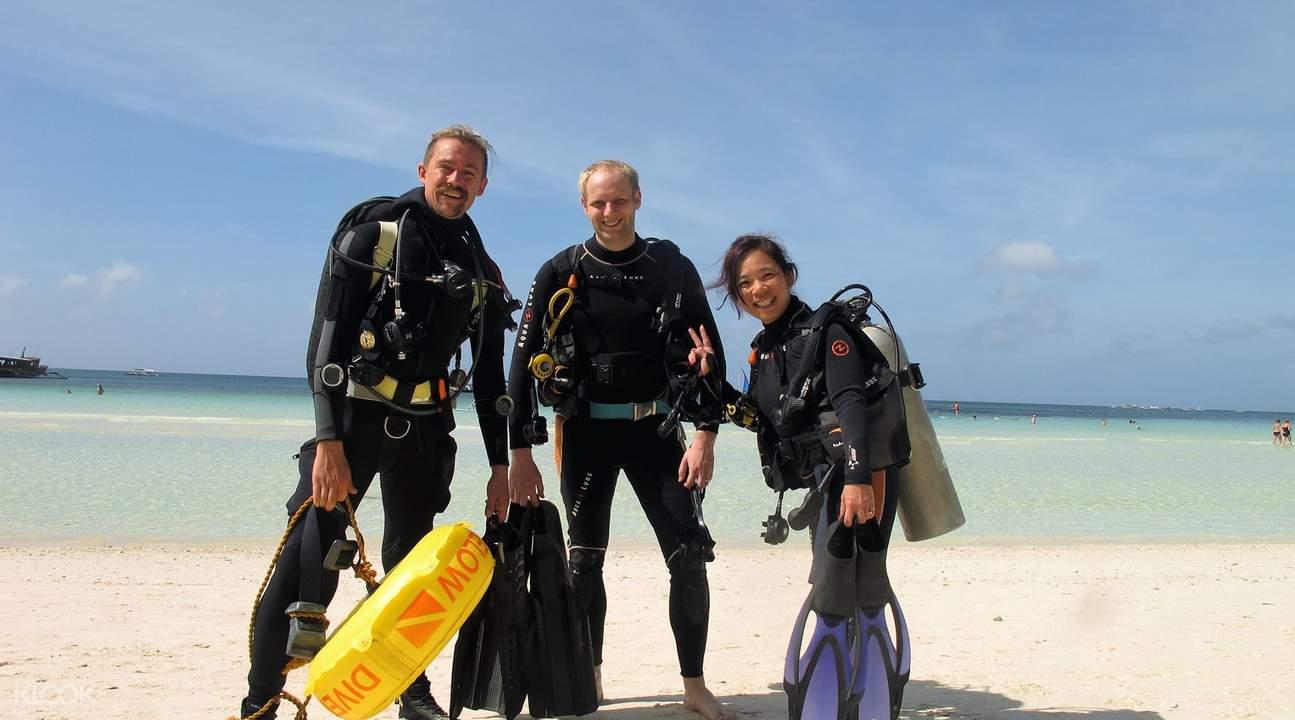 长滩岛潜水体验课程