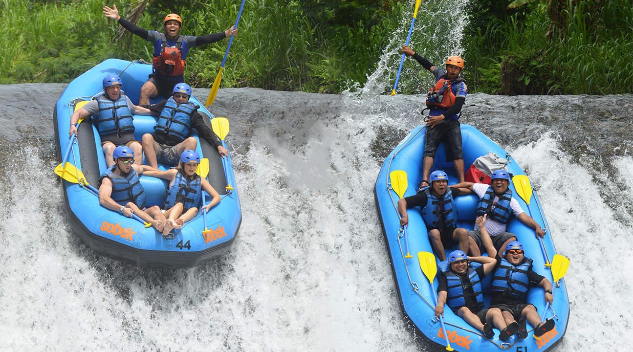 Telaga Waja White Water Rafting Experience In Bali Indonesia