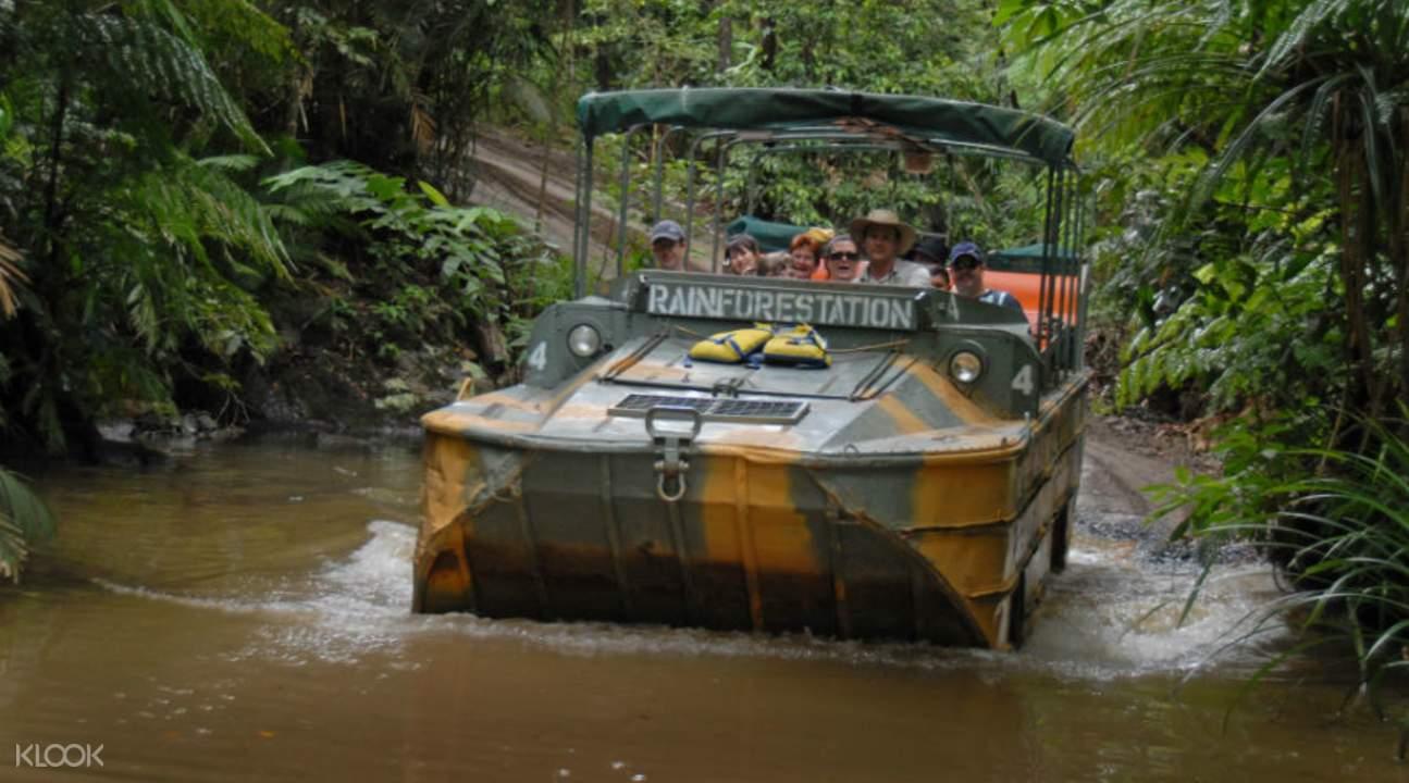 庫蘭達雨林鴨子船游 & 雨林纜車 & 觀光火車