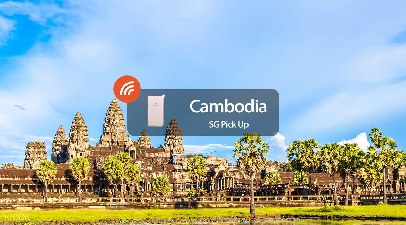 3.5G WiFi (SIN Pick Up) for Cambodia