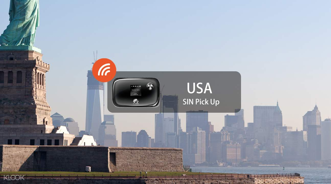 美国4G 随身WiFi(新加坡领取)