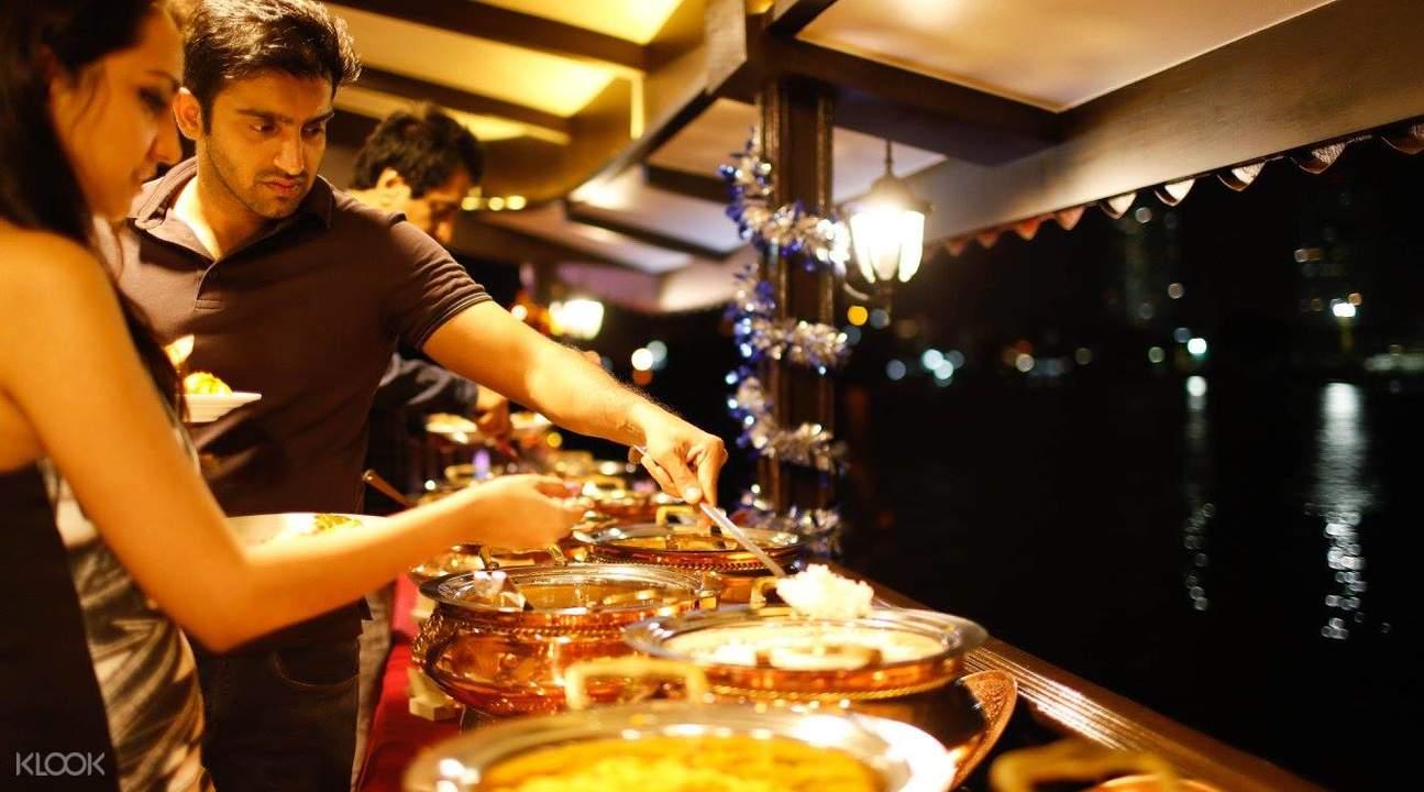 泰國曼谷 夜遊湄南河(含遊輪船票+自助晚餐)