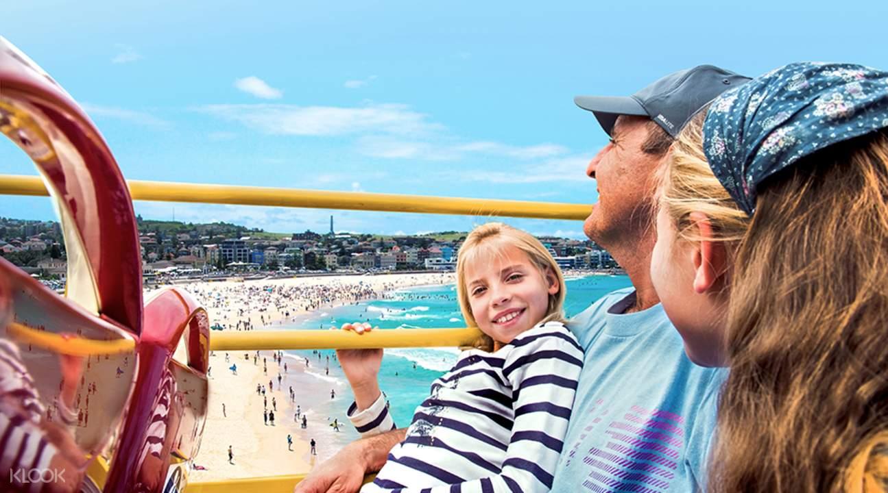 雪梨隨上隨下觀光巴士票種類