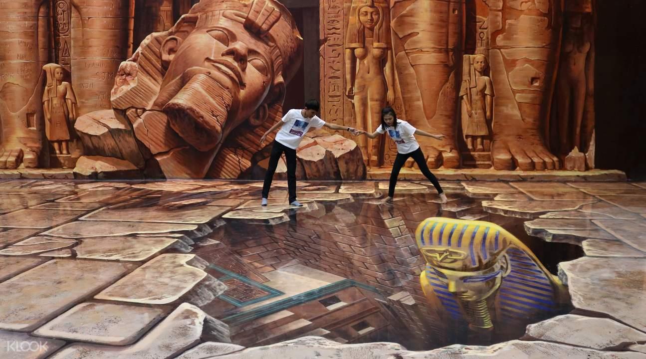 ArtBox Trick Eye Museum Admission Ticket Siem Reap Cambodia