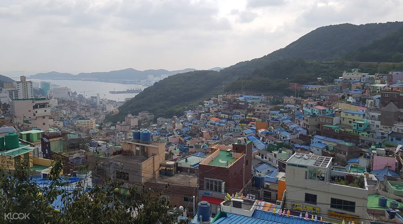 Gamcheon Culture Village colorful houses