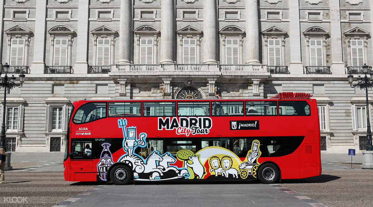 马德里随上随下观光巴士票