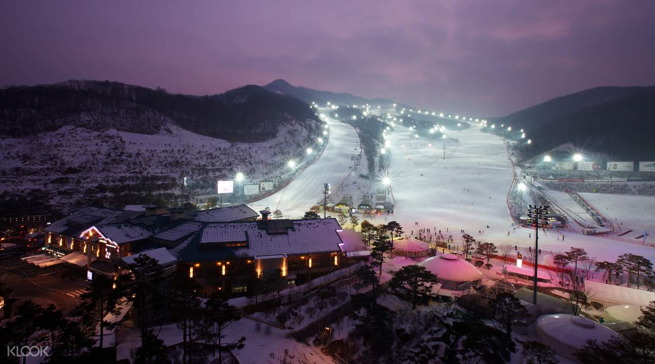 konjiam ski resort seoul klook promo