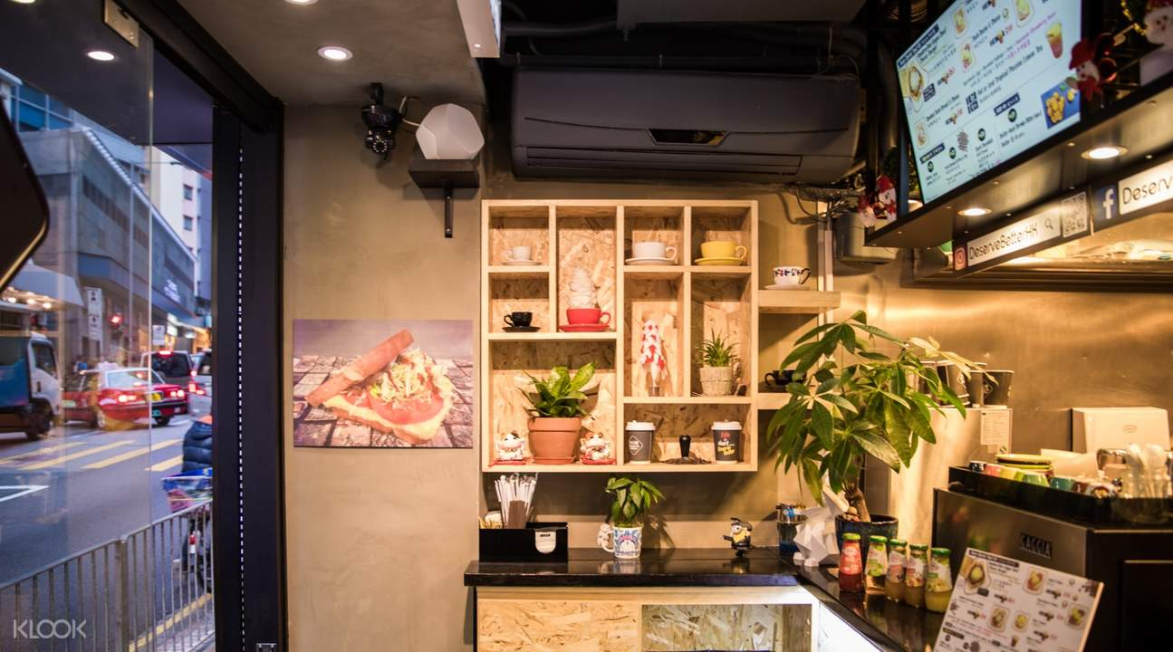香港 湾仔 Deserve Better Toast and Coffee