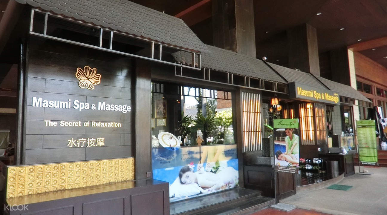 traditional lanna Masumi Spa in Chiang Mai Thailand