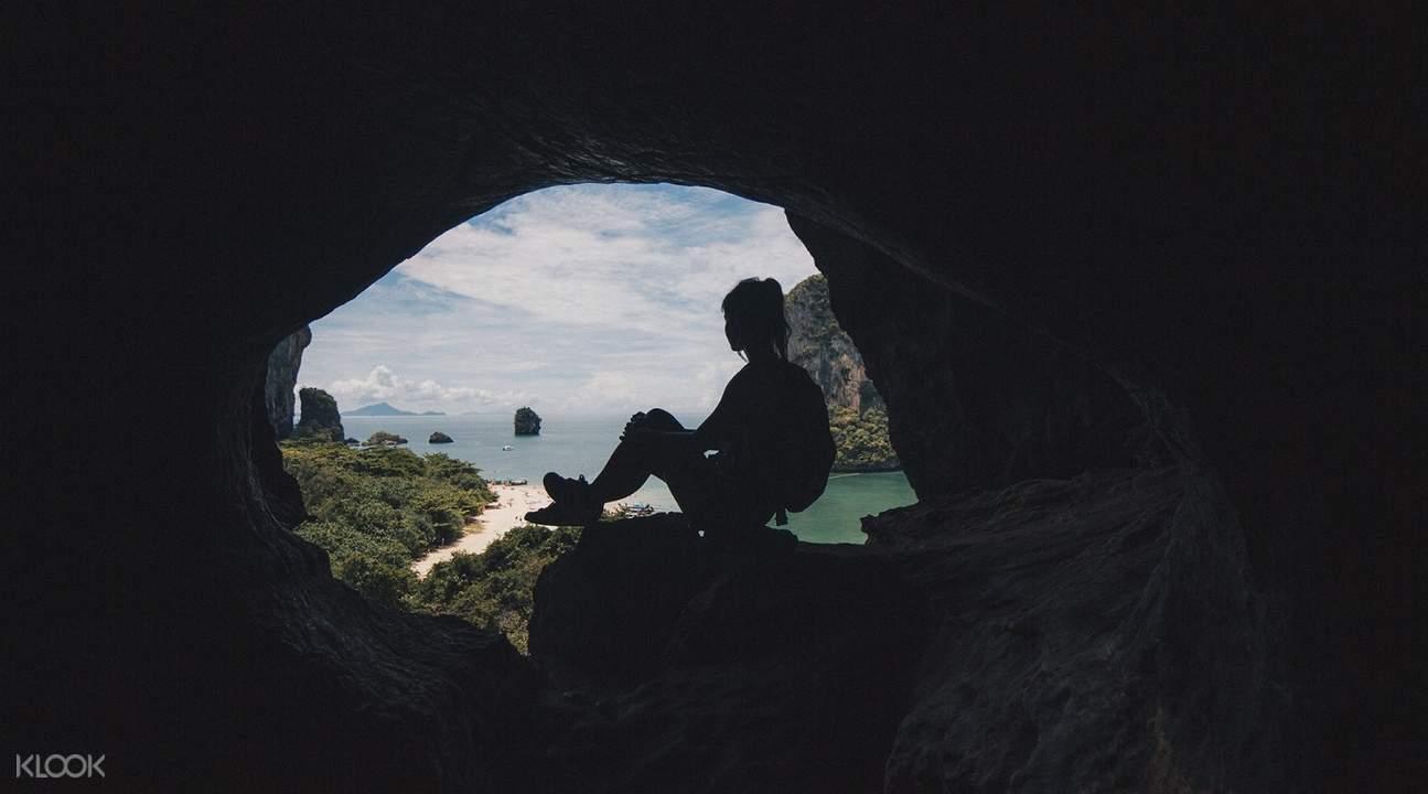 caving tour in krabi