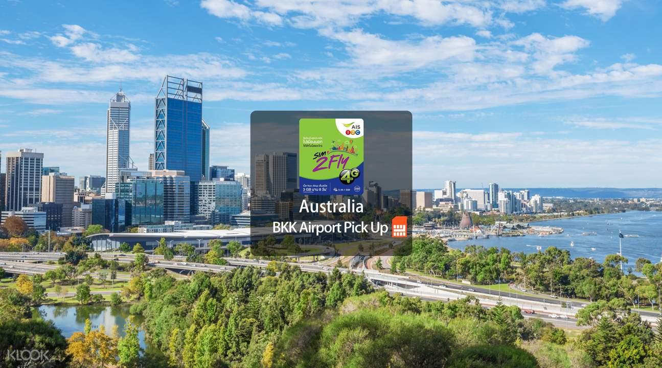 sim card bkk pick up for australia