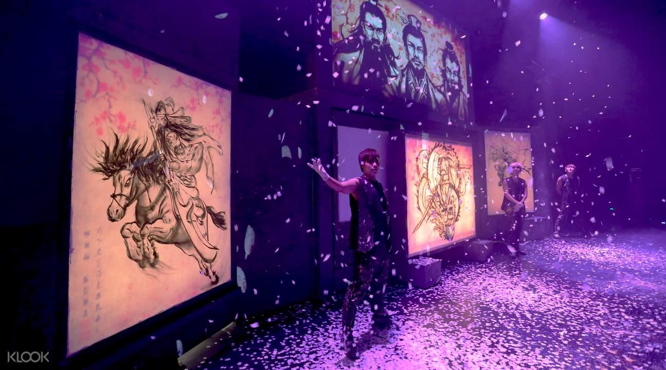 济州岛英雄涂鸦秀