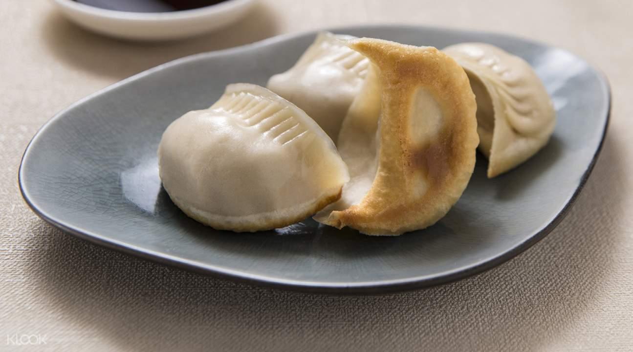 Pan-fried Pork Dumpling at Crystal Jade La Mian Xiao Long Bao in Kowloon Bay