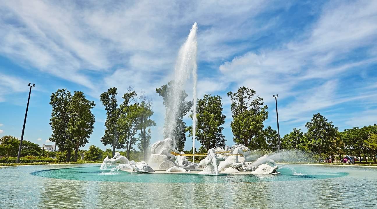 奇美博物館阿波羅噴泉