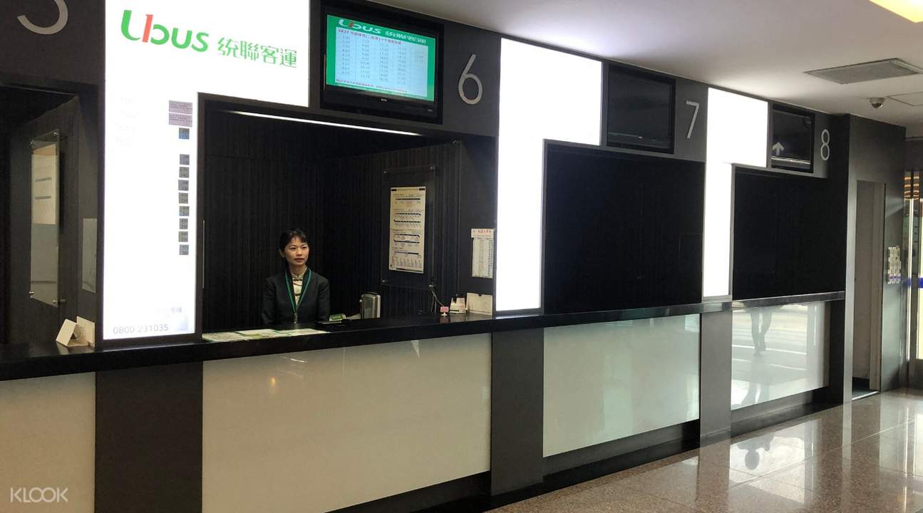 ticketing counter at the airport