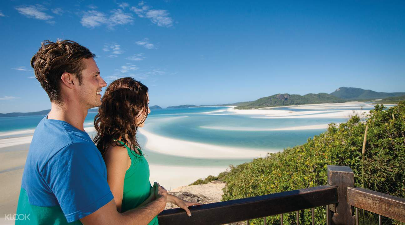 hill inlet lookout at whitsundays