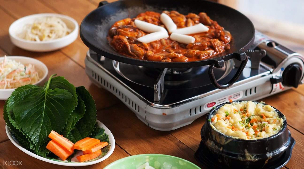 stir fried baby octopus yeoljeongdo jjukkumi passion island seoul south korea