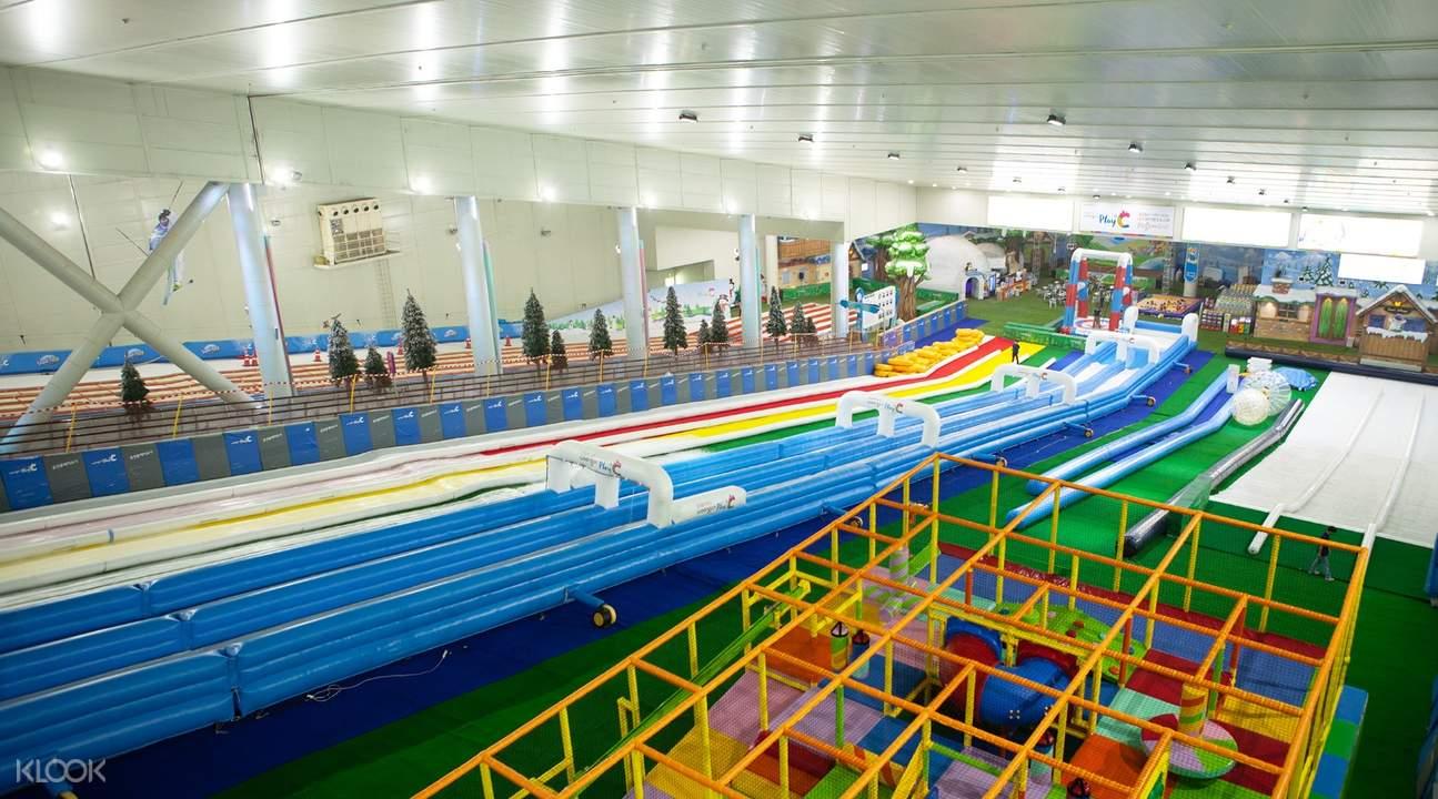 熊津葡蕾樂園夏季滑道樂園