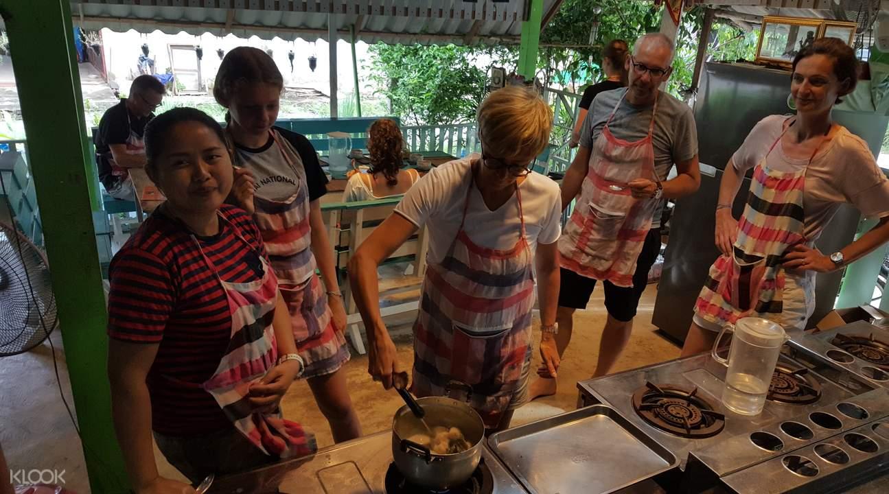 泰国象岛Napala泰式烹饪课堂