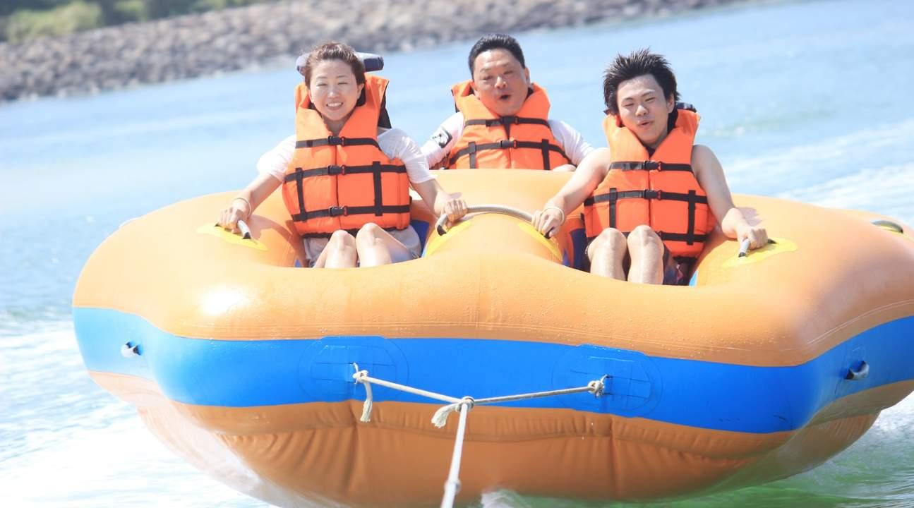 巴厘島香蕉船