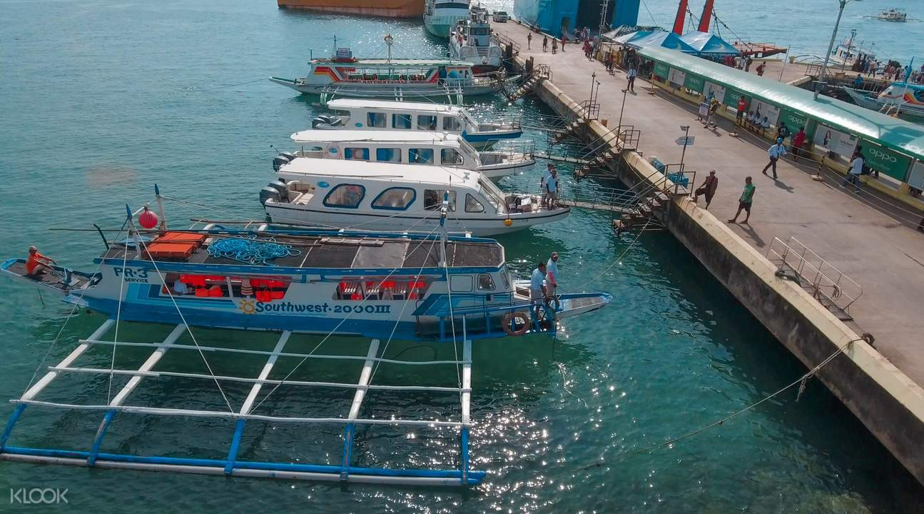 speedboat dock for Kalibo International Airport (KLO) Transfers for Boracay