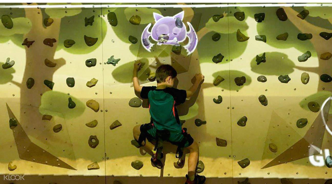 Wall climbing Singapore