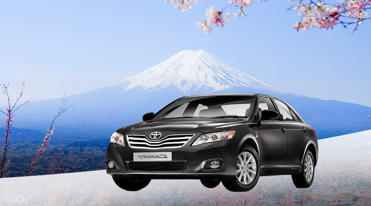 包車遊覽富士山