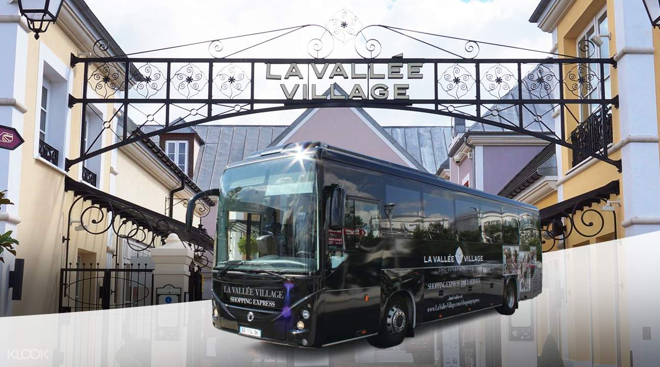 Minibus Transfers La Vallée Village