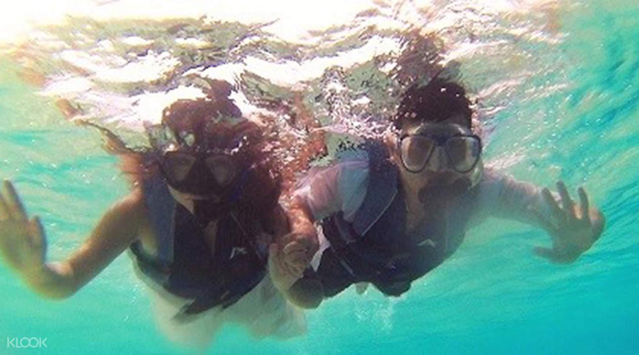 白沙岛浮潜
