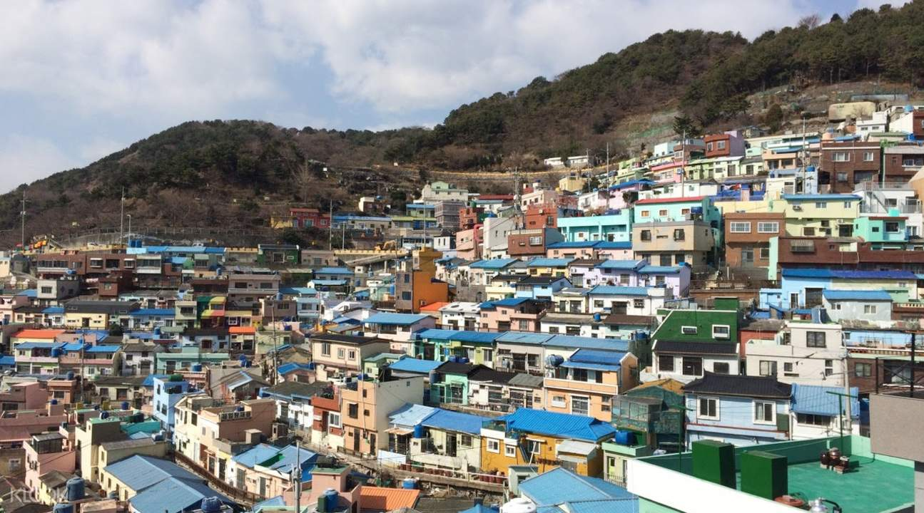 gamcheon wall painting village
