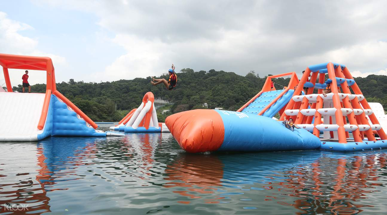 Core Aqua Park Ticket - Visit the biggest inflatable park