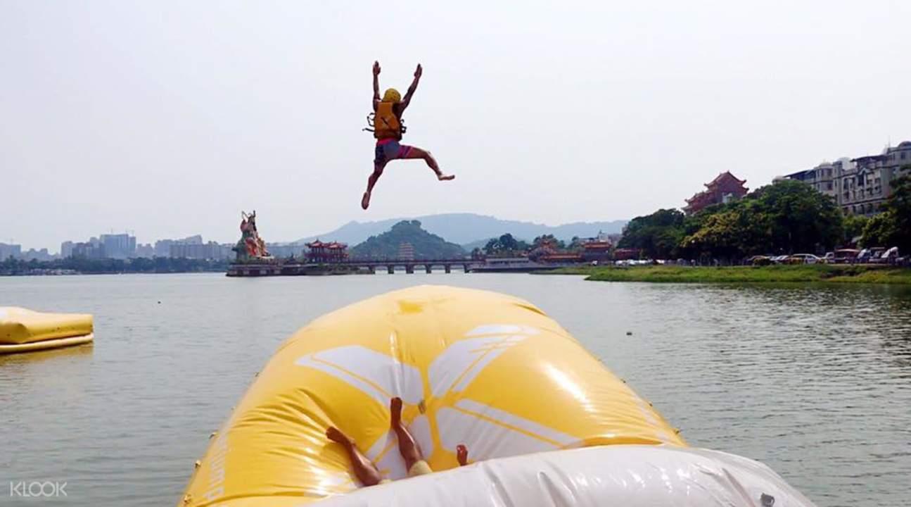 water blog jumping kaohsiung
