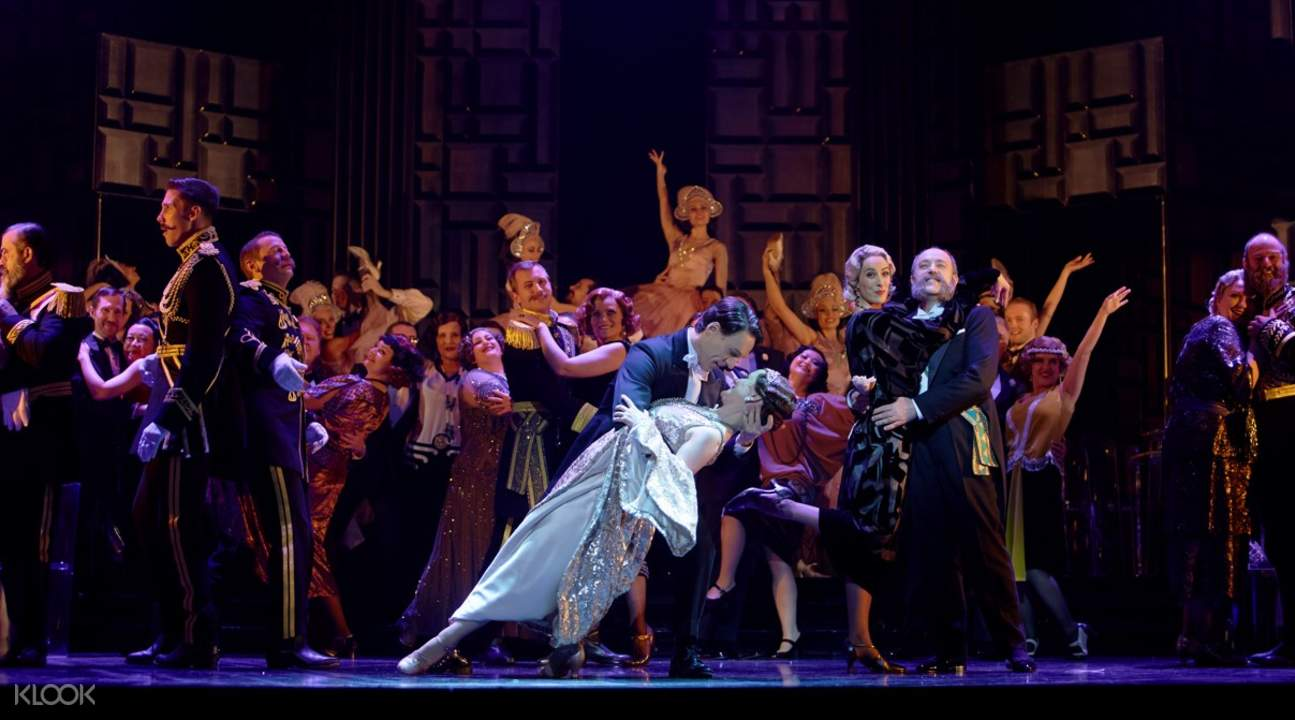 The Merry Widow at the Sydney Opera House