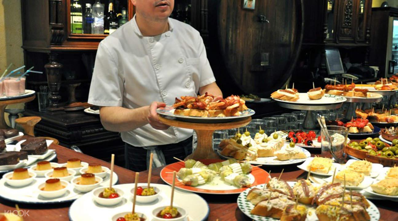 巴塞罗那街头美食之旅