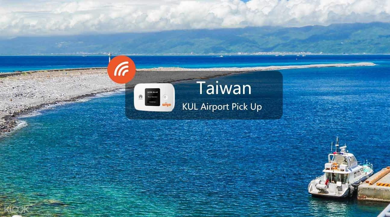4G WiFi Device Kuala Lumpur Airport Pick Up for Taiwan - Klook