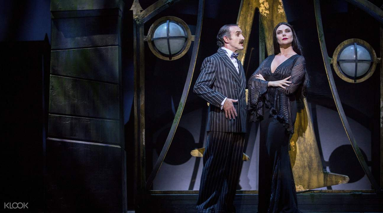 The Addams Family Musical Ticket