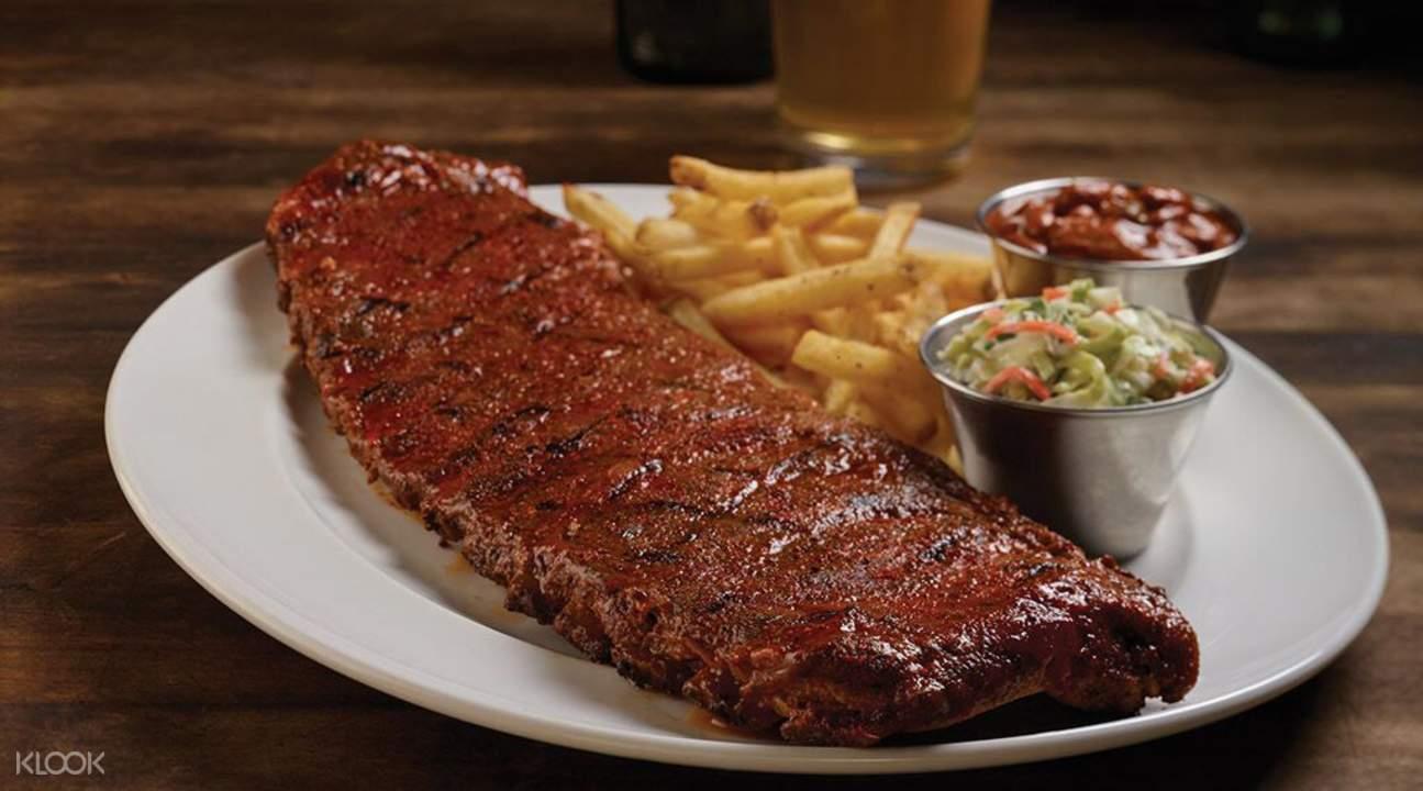 紐約Hard Rock Cafe硬石搖滾主題餐廳餐券