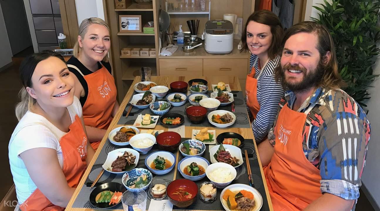 kaiseki cooking class tokyo japan