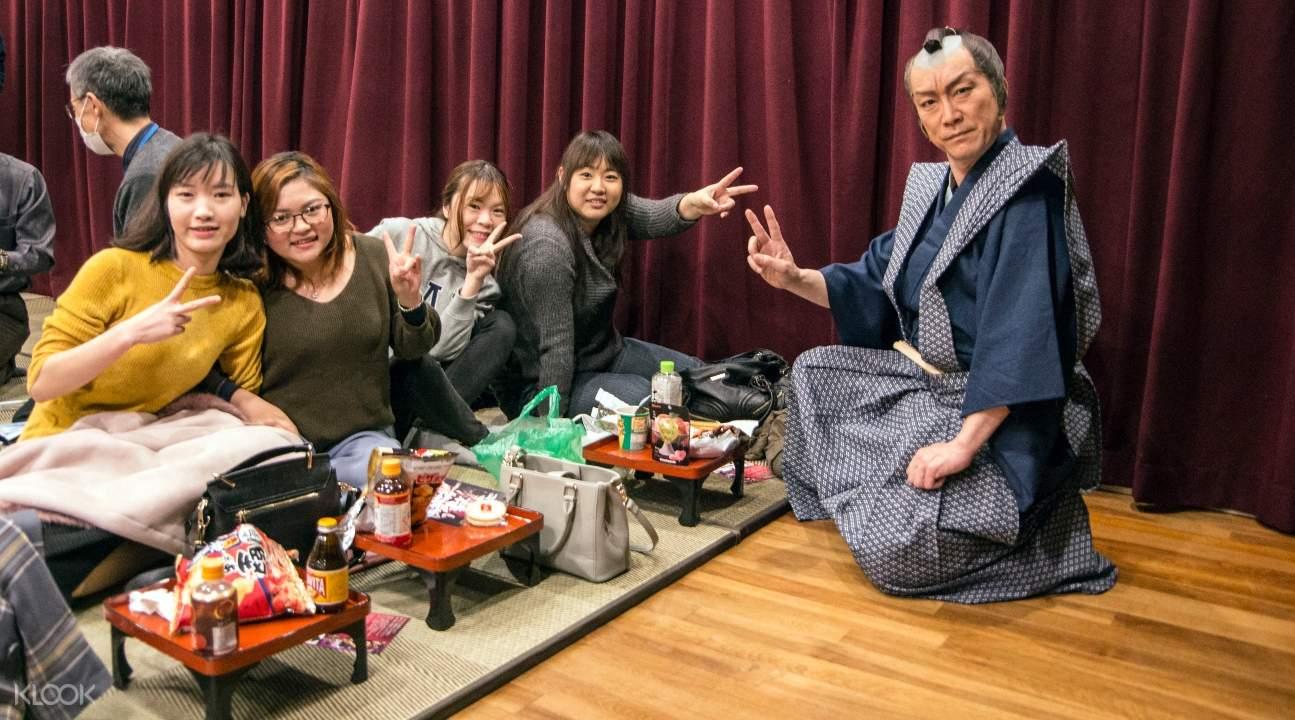 samurai cafe in osaka, samurai cafe show ticket osaka, samurai show in osaka, samurai cafe show e-ticket osaka