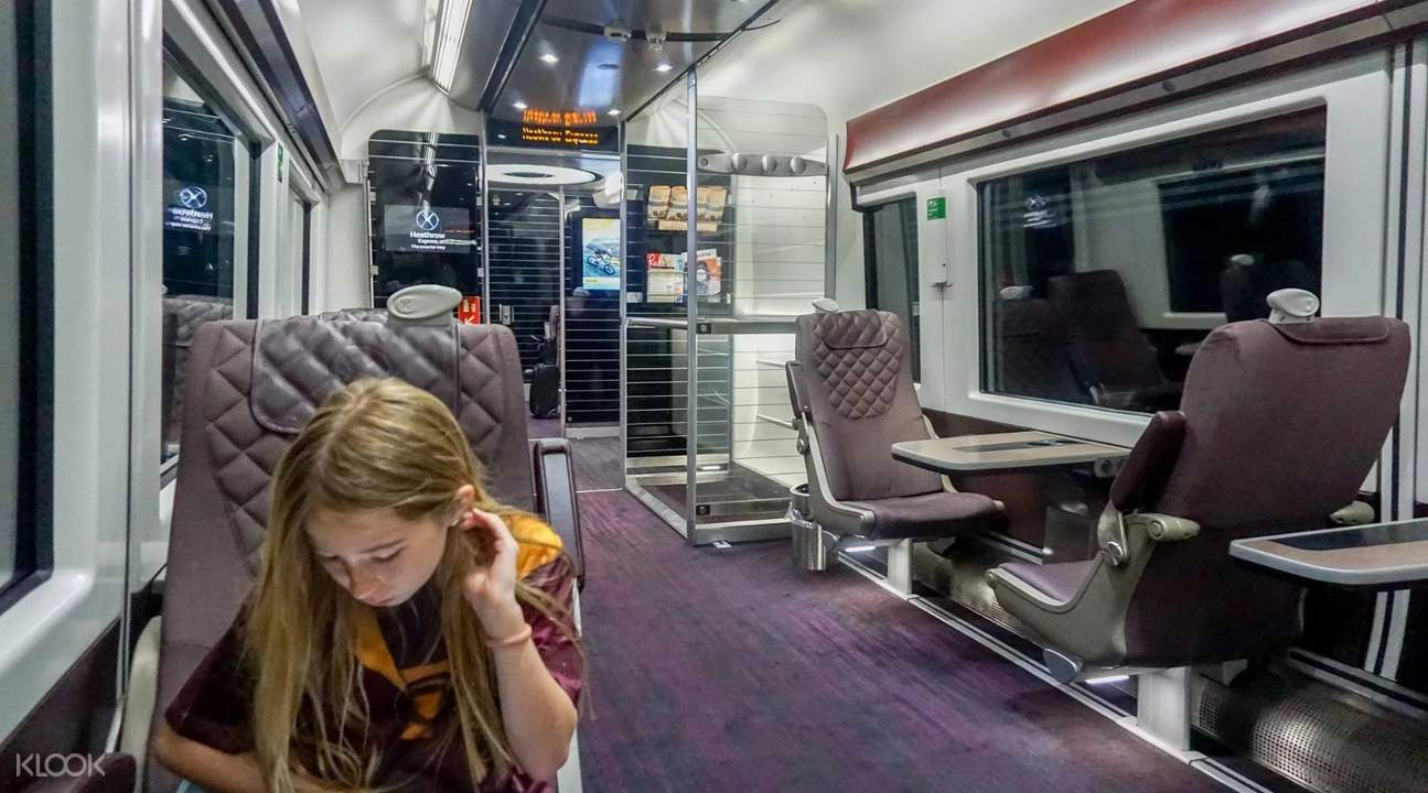 heathrow express first class london united kingdom