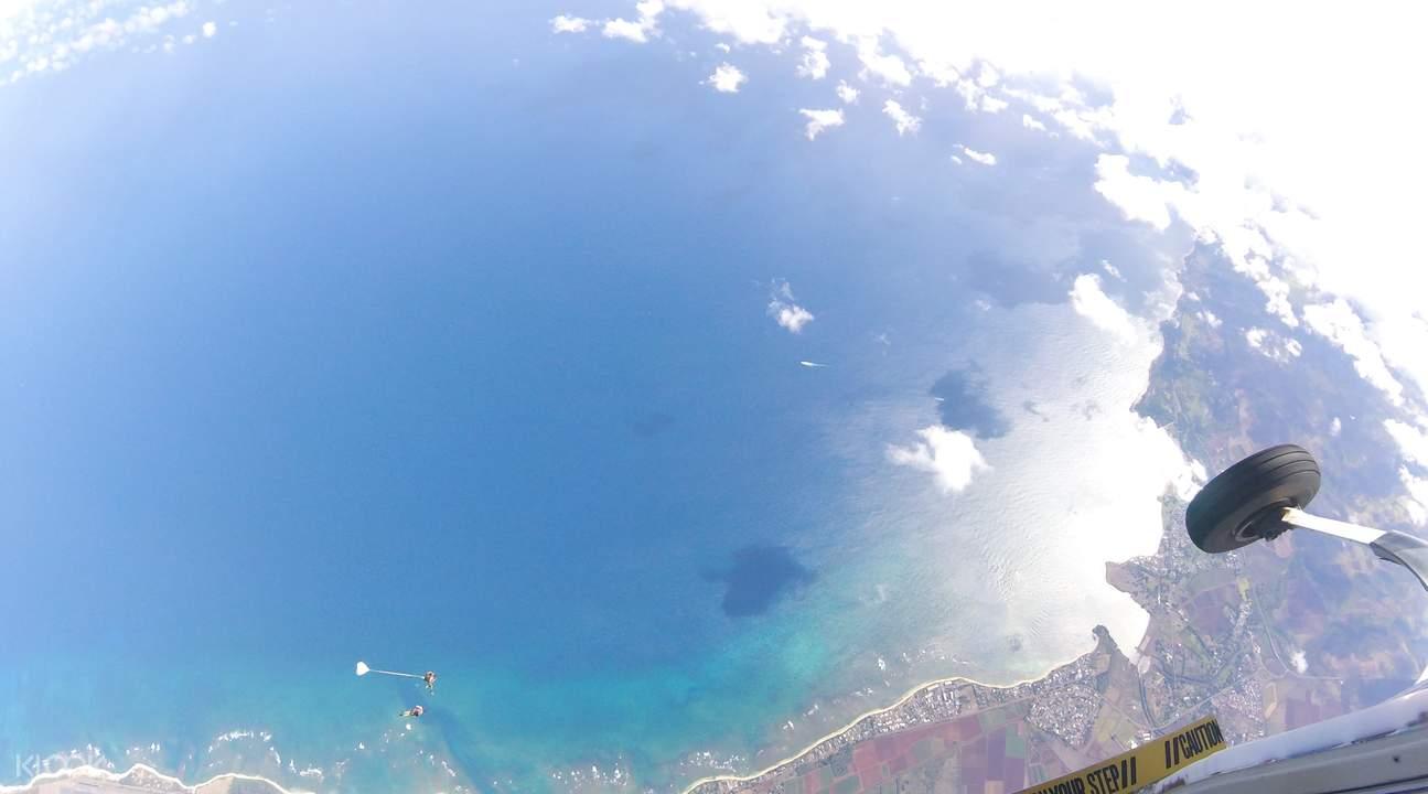 夏威夷高空跳傘