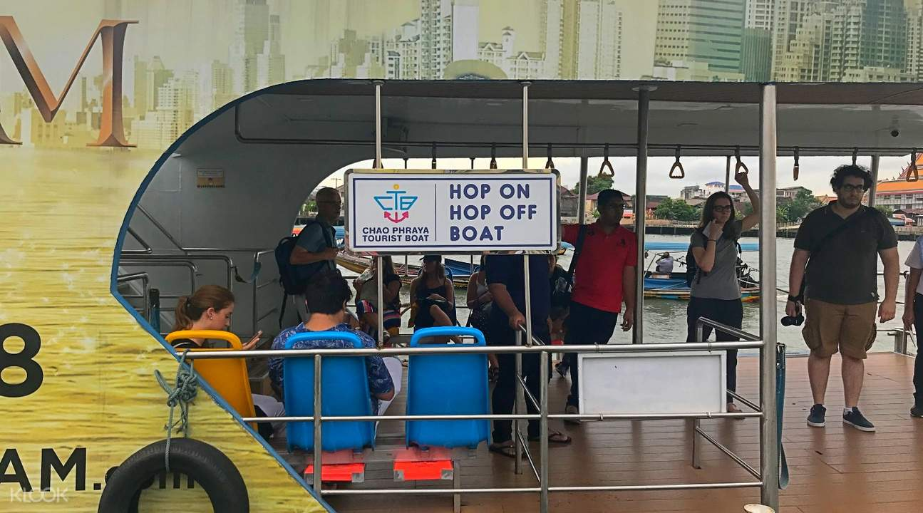 chao phraya hop on hop off boat tour bangkok