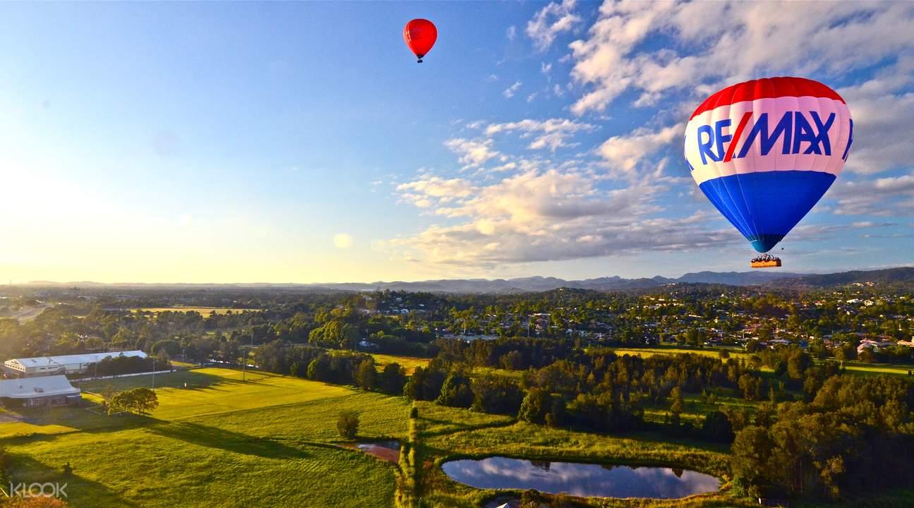 黃金海岸熱氣球體驗