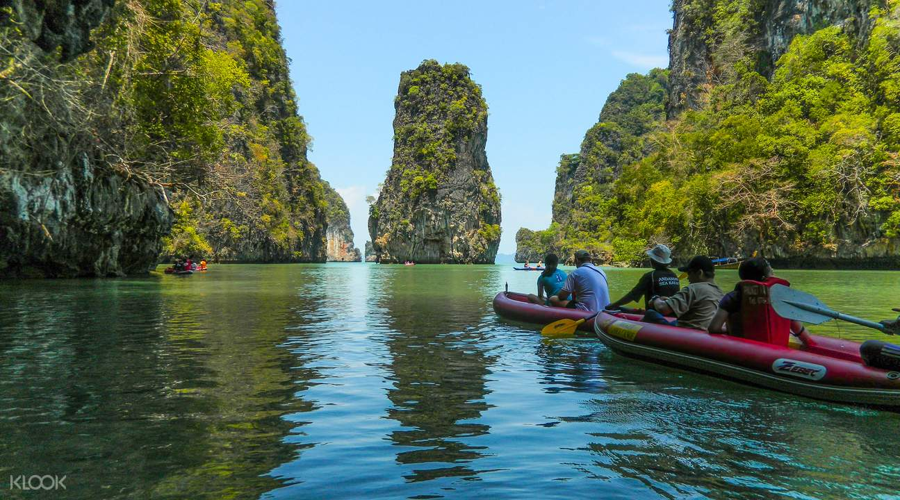 James Bond Island & Phang Nga Bay Tour by Long Tail Boat